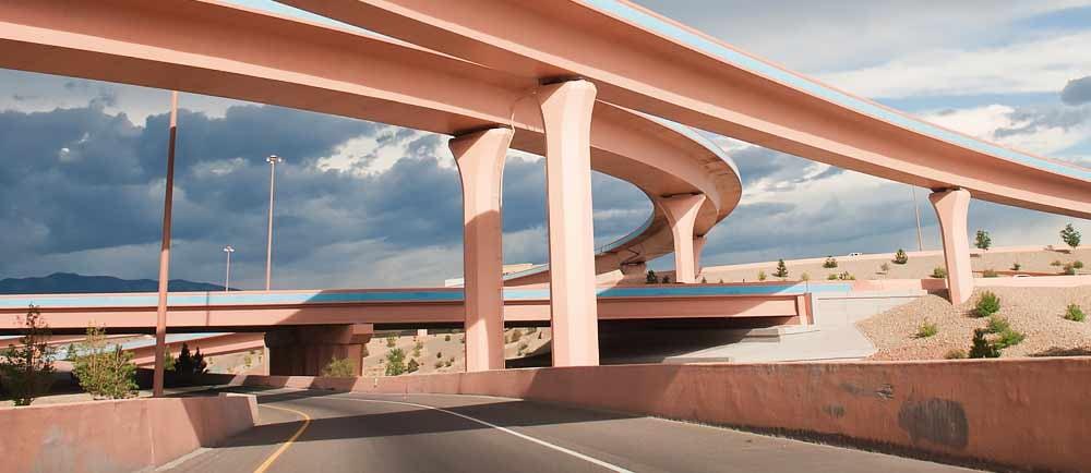 Big-l-Freeway-Interchange-in-Albuquerque-New-Mexico-1