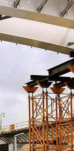 Bridge Construction Companies and Bridge Falsework