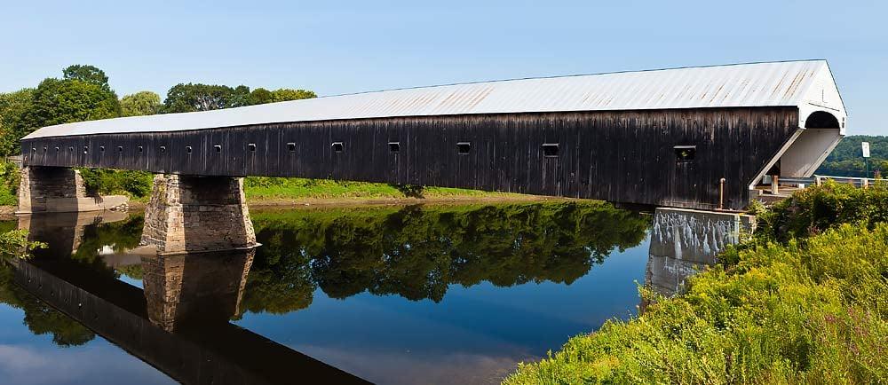 Kingsley-Covered-Bridge-in-Clarendon-Vermont-1